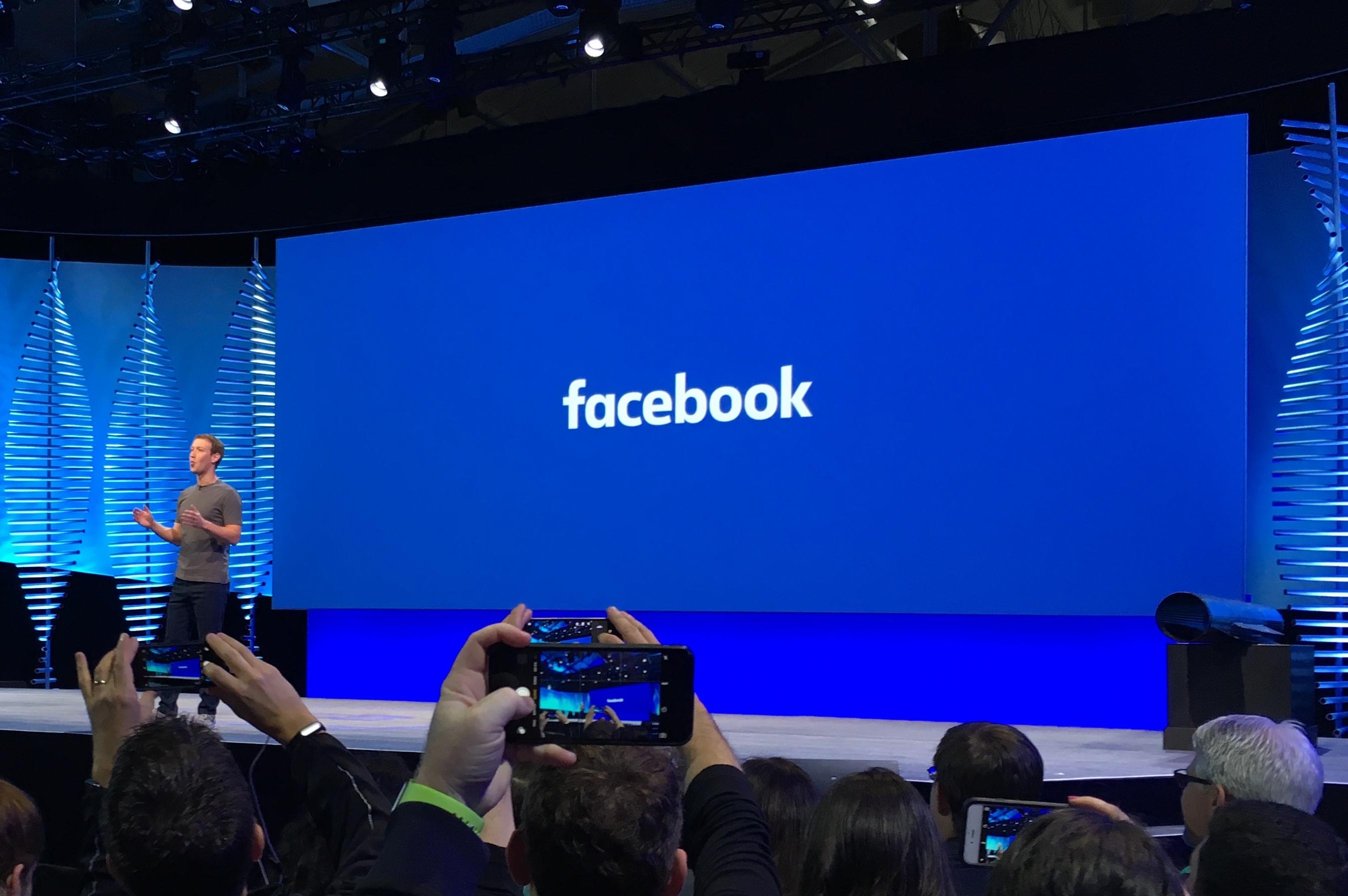 Mark Zuckerberg, en conferencia acerca de la publicidad.