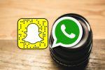 WhatsApp innovando y haciendo competencia con Snapchat.